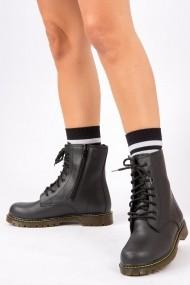 Ghete Fox Shoes G641380609 Negru