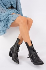 Fox Shoes Bokacipő OYO-G643234409-Black Fekete