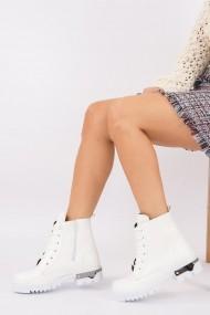 Ghete Fox Shoes G328784009 Alb