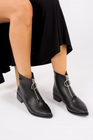 Ghete Fox Shoes G563163609 Negru