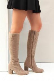 Cizme Fox Shoes A922903002 Gri-Bej - els