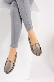 Pantofi sport casual Fox Shoes F757009009 argintiu