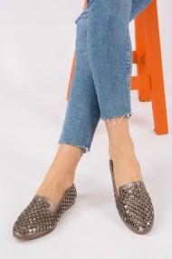 Pantofi sport casual Fox Shoes H242266414 argintiu
