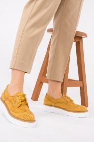 Pantofi sport casual Fox Shoes H996091002 mustar