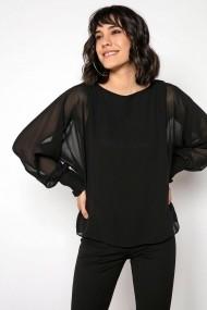 Bluza By Saygi S-20K0840035 negru