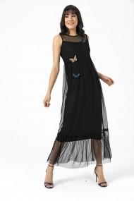 Rochie de seara By Saygi S-20Y0990006 negru