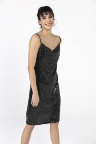 Rochie de seara By Saygi S-20Y2800001 negru
