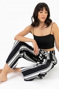 Pantaloni By Saygi S-20Y3080003 negru
