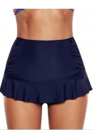 Pantaloni scurti de plaja Angelsin MS4268 Bleumarin - els