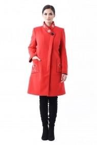 Palton brodat Lille Couture Maria Rosu