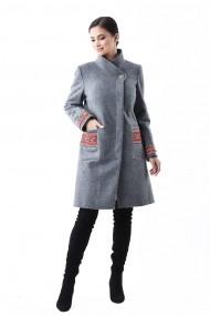 Palton brodat Lille Couture Maria Gri
