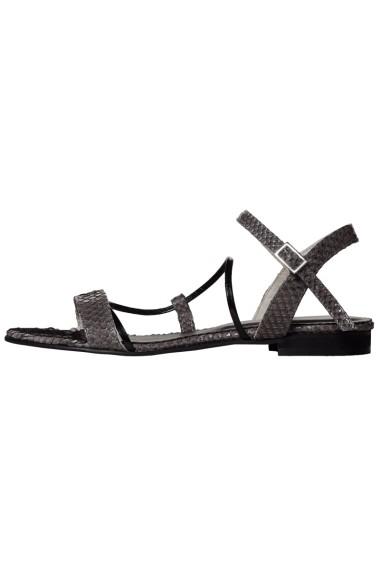 Sandale plate Hotstepper HS6517 Negre