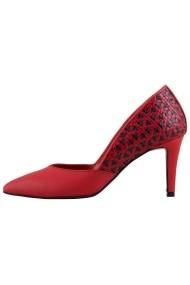 Pantofi cu toc Hotstepper Adore Red Inka Rosu