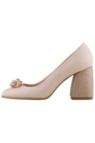 Pantofi cu toc Hotstepper Power Pink Gin Nude