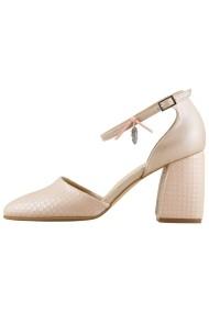 Pantofi cu toc Hotstepper Dreamy Light of Love Nude