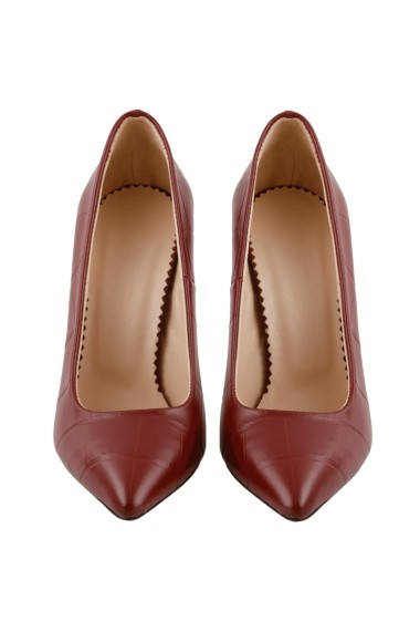 Pantofi cu toc Hotstepper Privilege Midnight Red Visiniu