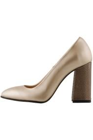 Pantofi cu toc Hotstepper Attitude Aurora Bronze Bej
