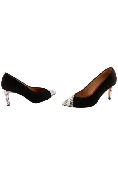 Pantofi cu toc Hotstepper Reverse Paloma Negru