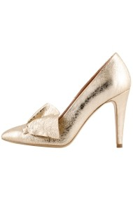 Pantofi cu toc Hotstepper Romantico Gold Auriu