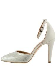 Pantofi cu toc Hotstepper Temper MintCream Argintiu