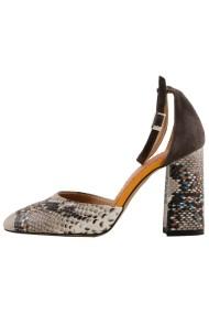 Pantofi cu toc Hotstepper Dreamy Isotropic Animal Print