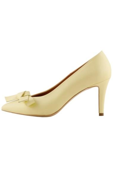 Pantofi cu toc Hotstepper Power Sorbeto Galben
