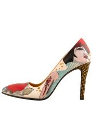 Pantofi cu toc Hotstepper Badass II Print