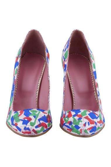 Pantofi cu toc Hotstepper Nice Peppermint Multicolor
