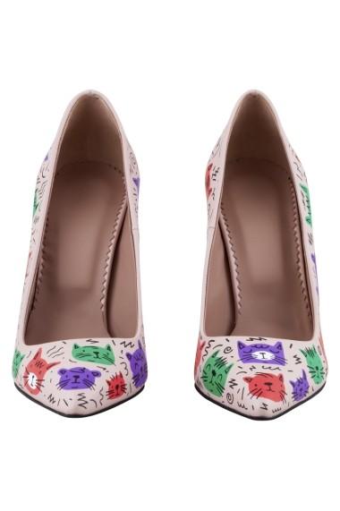Pantofi cu toc Hotstepper The Super Clique Multicolor