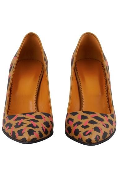 Pantofi cu toc Hotstepper Catty Eyelashes Print