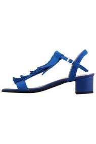 Sandale cu toc Hotstepper Sprinkles Scuba Blue Albastru