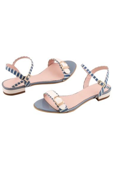 Sandale plate Hotstepper Sunny Go Blue Albastru
