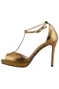 Sandale cu toc Hotstepper Enchanted Copper Bronz