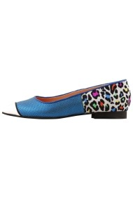 Balerini Hotstepper Fresh Blue Exotiko Animal Print