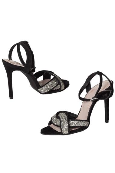 Sandale cu toc Hotstepper Special Fine Black Negru