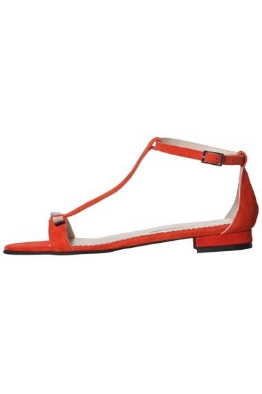 Sandale plate Hotstepper Divine Firestarter Rosu