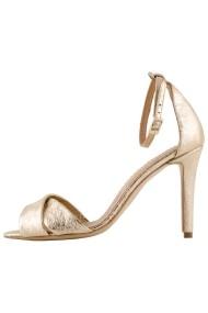 Sandale cu toc Hotstepper Stripes Gold Auriu