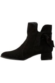 Pantofi Hotstepper Paramour Velvet Black