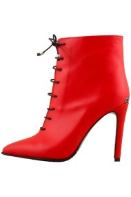 Botine Hotstepper Statement Red Lamp