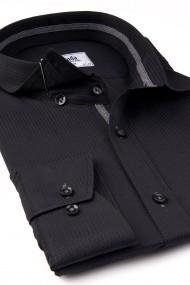 Camasa ESPADA MEN`S WEAR eleganta slim fit uni neagra armour