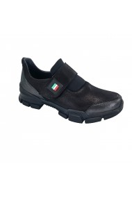 Pantofi sport casual din piele Torino 1006 negri