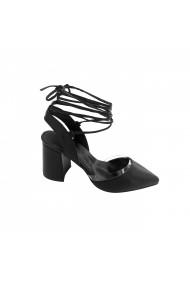 Pantofi cu toc dama Torino T-16 negru
