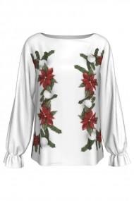 Bluza imprimata digital Dames Poinsettia 1 A842C11