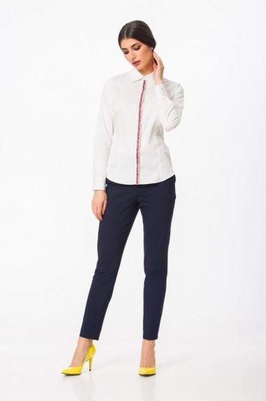 Pantaloni conici Dames Lazurite cu buzunare DP012N
