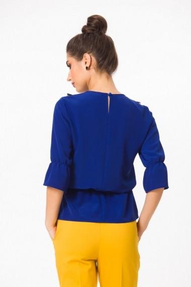 Bluza Dames Safir elastic si tulle DP002B