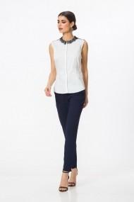 Bluza Dames Dames Selenite Lace cu aplicatii din dantela DP006