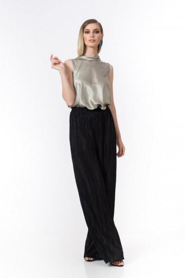 Pantaloni largi maxi Dames plisati DP028