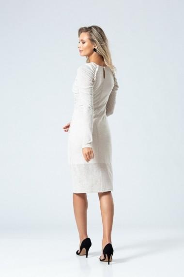 Rochie midi eleganta PREMIUM cu pliuri DP050