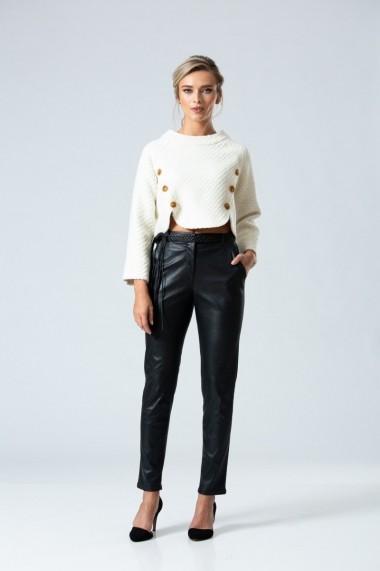 Pantaloni drepti Dames DP068 Negri