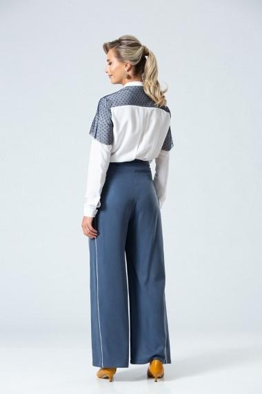 Pantaloni largi Dames DP067 Albastru
